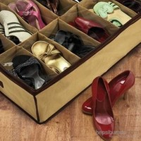 Carda Ayakkabı Saklama Çantası 12 Bölmeli Shoes Under