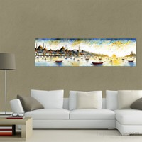 Atlantis Tablo İstanbul Panorama (Detay) 100X30 Cm