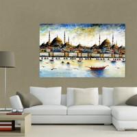 Atlantis Tablo İstanbul Panorama (Detay) 115X70 Cm