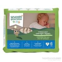 Seventh Generation Bebek Bezi Gece Boyu 6 (15.9 kg ve üstü) 17 Adet
