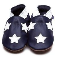 İnch Blue Hakiki Deriden Patik Stardom Navy