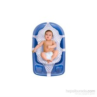 Sevi Bebe Lüks Bebek Bebek Banyo Filesi Mavi