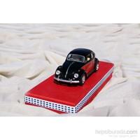 Mira Siyah Vos Vos Arabalı Tasarım Kutu 22*8 Cm