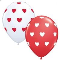 Trio Balon Kalp Baskılı 8 Adet