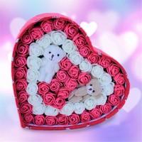 Sevgiliye Romantik Hediye I Love You Kalp Kutu