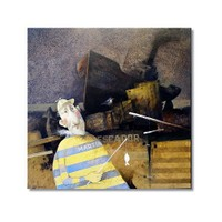 Tictac Dekoratif 6 Kanvas Tablo - 50X75 Cm