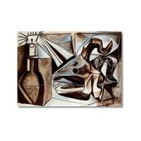 Tictac Picasso 5 Kanvas Tablo - 40X60 Cm