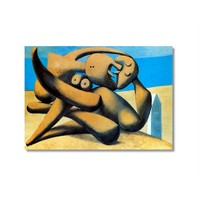 Tictac Picasso 6 Kanvas Tablo - 60X90 Cm