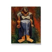 Tictac Picasso 8 Kanvas Tablo - 40X60 Cm