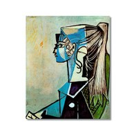Tictac Picasso 13 Kanvas Tablo - 50X75 Cm