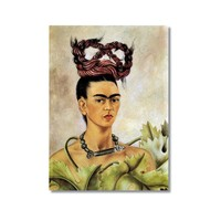 Tictac Frida 2 Kanvas Tablo - 40X60 Cm