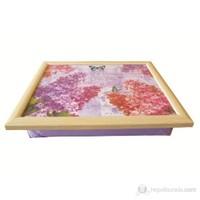 T-Tray Keyif Tepsisi Lilac Akçaağaç
