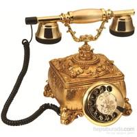 Saray Konak Komple Altın Varaklı Telefon