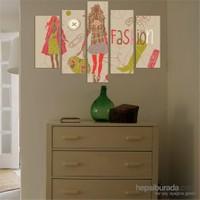 5 Parçalı Dekoratif Tablo DEC030