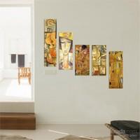 5 Parçalı Dekoratif Tablo DEC074