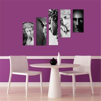 5 Parçalı Dekoratif Tablo DEC078