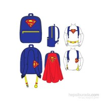 Superman Pelerinli Sırt Çantası
