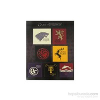 Game Of Thrones House Magnet Set