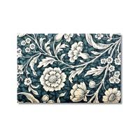 Tictac Beyaz Çiçekler Kanvas Tablo - 60X90 Cm