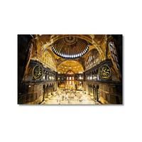 Tictac Aya Sofya 1 Kanvas Tablo - 40X60 Cm