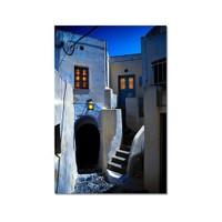 Tictac Dar Sokaklar Kanvas Tablo - 40X60 Cm