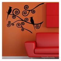 Artikel KuşlarKadife Duvar Sticker Dp-057 ve Tuz boyama