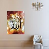 Atlantis Tablo Allah (cc) Lafz-ı Şerifi 50X70 Cm