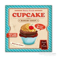 Dolce Home Cupcake -3 Dekoratif Tablo Adgt11