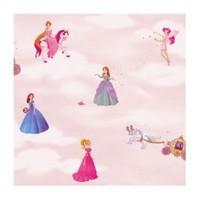 Bien Kids 1972 Nonwoven Prenses Desenli Kız Çocuk Odası Duvar Kağıdı