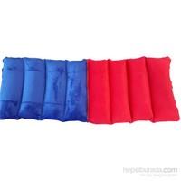 Fermuarlı Akrobat Yastıklar kırmızı