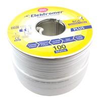 Elektromer Rg6/U4 Trishield Anten Kablosu 100 Metre