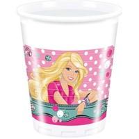 Parti Şöleni Barbie Bardak 8 Adet