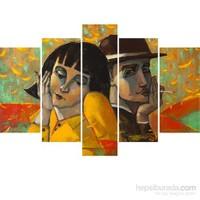 5 Parçalı Dekoratif Tablo Y5tp108