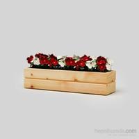 Onlywood Flower Saksı Natural