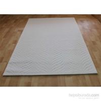 Jüt Tekstil Beyaz İnci Akrilik Nepal Halı 2000 150X233