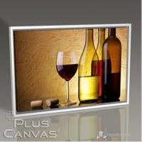 Pluscanvas - White Red And Pink Wine Tablo