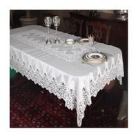 Mella Home Alyans Dantelli Masa Örtüsü 150X260