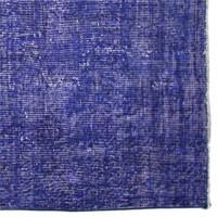 Altıncı Cadde Vintage Halı Mavi 117X206 Cm