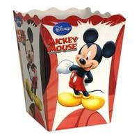 Parti Şöleni Mickey Mouse Popcorn Kutusu 8 Adet