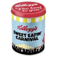 Nostalgic Art Kellog's Sweet Eatin Yuvarlak Teneke Saklama Kutusu