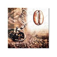 Tictac Kahve Çekirdeği 1 Kanvas Tablo - 70X70 Cm