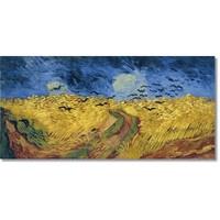 Tictac Van Gogh Başak Tarlası Kanvas Tablo - 60X120 Cm