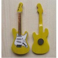 Minyatür Gitar Magnetler Ahşap Mın10-8