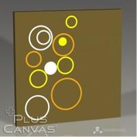 Pluscanvas - Magic Bubbles Tablo
