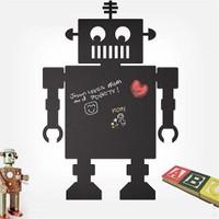 Dekorjinal Robot Yazılabilir Yaz Sil Sticker Ys26
