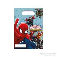 KullanAtMarket Spiderman Savaşçı Parti Çantası 6 Adet