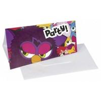 Parti Paketi Furby Davetiye 6'Lı