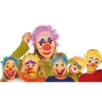 Parti Paketi Palyaço Maske Çocuk