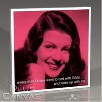 Pluscanvas - Rita Hayworth - Gilda And Me Tablo