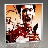 Pluscanvas - Al Pacino - Scarface Tablo